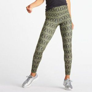 Lucy Perfect Core Power leggings olive arrow